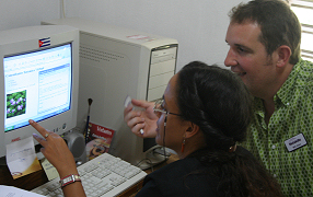 Training at La Universidad de Oriente, Santiago de Cuba